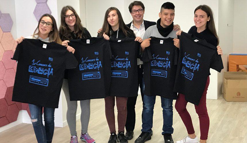 Gran èxit del concurs de ciències d'ESO