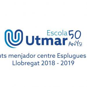 Ajuts menjador centre Esplugues de Llobregat 2018 – 2019