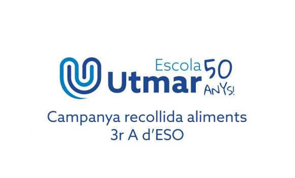 Campanya recollida aliments 3r A d'ESO