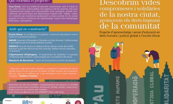 Participació d'Escola Utmar a les Jornades Internacionals de Recerca en Didàctica de les Ciències Socials de l'UAB