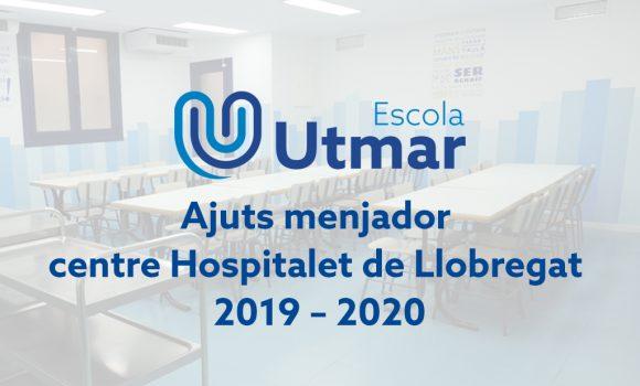 Ajuts menjador centre L'Hospitalet de Llobregat 2019–2020