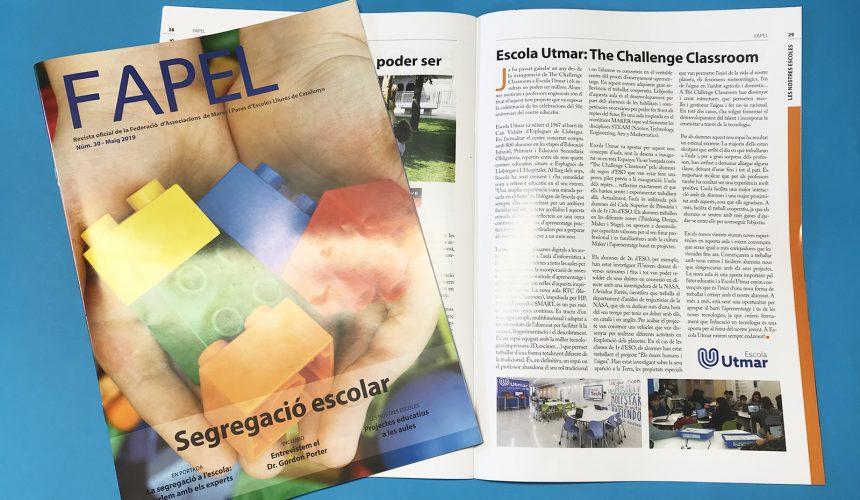 L'aula RTC a la revista de FAPEL