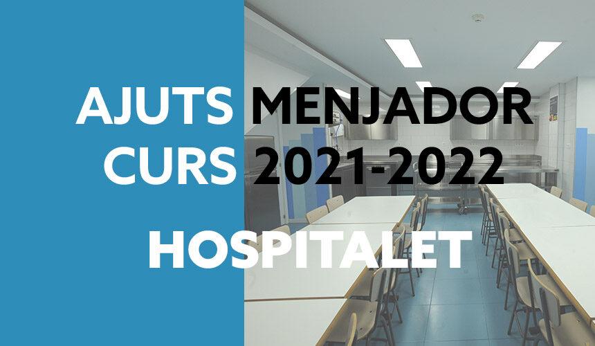 Ajuts menjador 2021-2022 L'Hospitalet